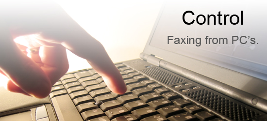 Control Faxing from PCs