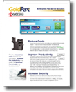 Download the GoldFax Kyocera data sheet